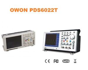 Owon Pds6062 bat 60mhz 250ms s Real time Sample Ratedigital Storage Oscilloscope