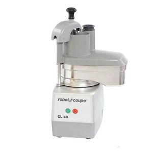 Robot Coupe Cl40 S s Vegetable Prep Food Processor W Grating Slicing Disc
