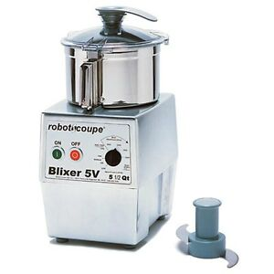 Robot Coupe 5 5 Quart Vertical Food Mixer Blender 3 Hp W Variable Speed