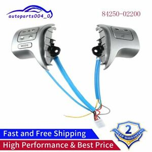 84250 02200 Fits Toyota Corolla Bluetooth Steering Wheel Audio Control Switch
