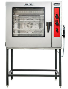 Vulcan Abc7e 240 7 Pan Boilerless Combi Oven steamer With Led Display 240v