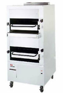 Southbend 234r 34 Double Deck Upright Radiant Broiler With 6 Legs