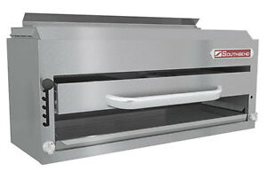Southbend P36 nfr 36 Gas Infrared Salamander Broiler Compact Riser Mount