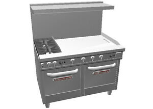 Southbend 48 Ultimate Range W 36 Therm Griddle 2 Space Saver Oven