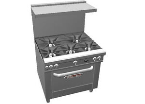 Southbend 4365a Ultimate 36 Range W 5 Burners Convection Oven