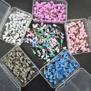 100 500 1000 Pcs Dental Rubber Latch Polisher Polishing Prophy Cup Bowl Brushes