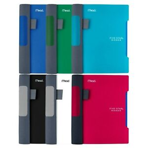Five Star Mini advance Spiral Notebooks 6 pack 1 Subject College Ruled 7 X 4