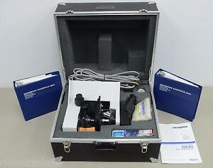 Olympus Bx40 F 3 Brightfield Microscope W three Olympus Plan Objectives e41