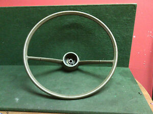 1964 1966 Chevrolet Corvair Factory Original Steering Wheel Stress Cracks