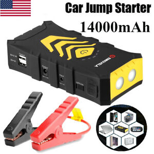 12v 68800mah Portable Battery Car Jump Starter Booster Emergency Power Bank Usmg