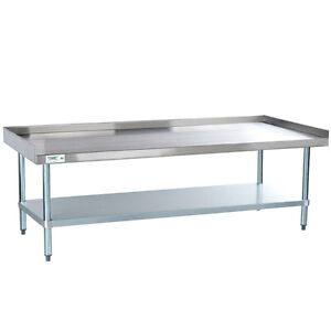 30 X 60 Stainless Steel Table Commercial Mixer Grill Heavy Equipment Stand