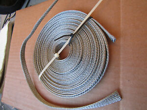 25 Ft 3 8 tin Plated Negative Ground Strap Made In The Usa By Belden 1 read More