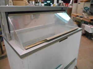 Used Ice Cream Dipping Freezer By Hussman