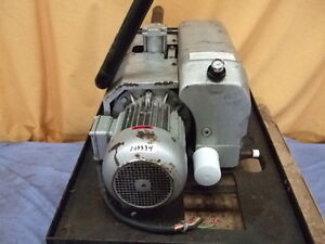 Busch Vacuum Pump 250 132 System Free Shipping To Lower 48