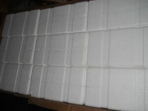 Box Of 45 New Thermosafe Styrofoam Insulated Shippers For Bottles