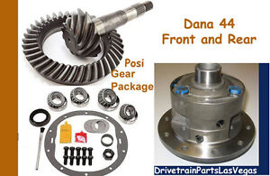 Premium Dana 44 Helical Posi Package Ring Pinion Master Rebuild Kit Jeep 4 56