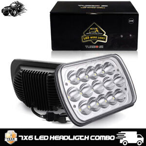 2x Led Projector Headlights Upgrade For E 150 E 250 E 350 Econoline Club Wagon