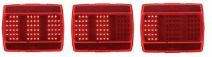 New 1965 1966 Mustang Led Tail Lights Pair Both Left Right Side Sequential
