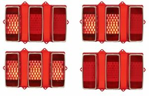 New 1969 Ford Mustang Led Tail Lights Pair Both Left And Right Side Sequential