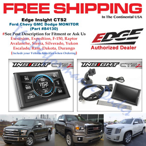 Edge 84130 Insight Cts2 Monitor Obdii Scanner 1996 2017 Ford Dodge Ram Gmc