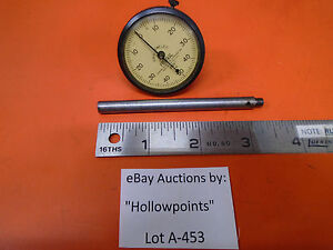 A453 Federal Vintage Dial 001 Indicator 0 50 0 Dial W 1 1 2 Face 0 100