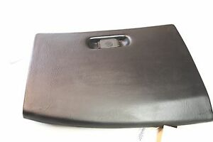 Glove Box Storage Compartment Lid W Lock Hinge Oem 1992 C4 Corvette Black Gm