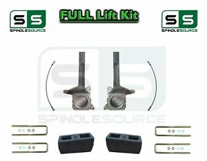 3 5 2 Inch Spindle Block Lift Kit Fits 2007 2018 Toyota Tundra 2wd