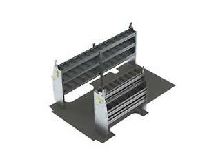 Plumber Van Shelving Package Gm Savana Express A315