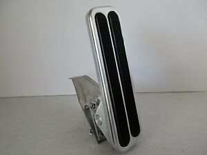 Polished Aluminum Floor Mount Throttle Gas Pedal Car Truck Hot Rod Rat Rod 8503