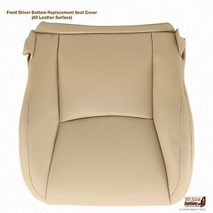 Driver Bottom Leather Seat Cover Color Tan Fits 2003 2004 2005 2006 Lexus Gx470