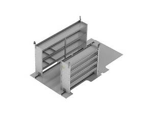 Ranger Design Contractor Van Shelving Ford Transit Long Lr Z10 F2