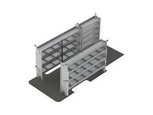 Ranger Design Contractor Van Shelving Package Sprinter 170 Wheel Base Z10 g7