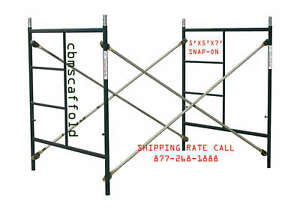 Cbm Scaffold One Of Snap on 5 X 5 X 7 Masonry Scaffolding Box Frame Set