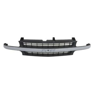 Am Grille Texture Black W chrome Bar For 99 02 Chevy Silverado 1500 00 06 Tahoe