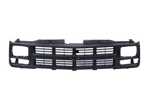 Am Argent Grille W trim For 94 00 Chevy C k Pickup Truck Suburban Seal Beam Only