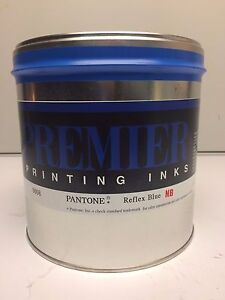 5 Lbs Reflex Blue non Bleed Offset Printing Ink