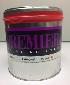 5 Lbs Pantone Purple non Bleed Offset Printing Ink