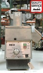 Robot Coupe R6v Commercial Continuous Feed Food Processor