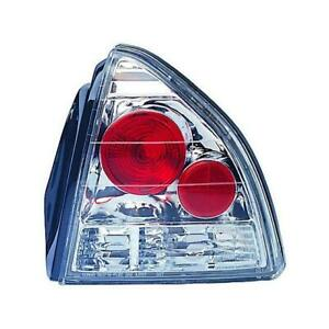 Ipcw 92 96 Honda Prelude Tail Lamps Crystal Clear Cwt 738c2 Pair