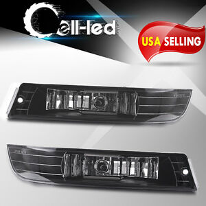 For 2000 2005 Chevy Impala Clear Bumper Fog Lights Lamps Replacement Left Right