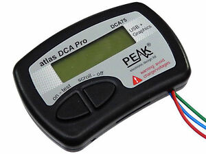 New Peak Atlas Dca75 Advanced Semiconductor Analyser From Japan Import