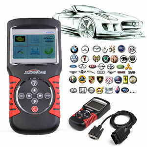 Kw820 Obdii Obd2 Eobd Auto Scanner Car Engine Fault Code Reader Diagnostic Gift