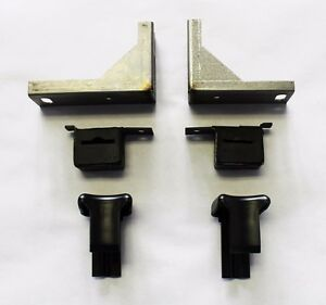 New 1965 1969 Ford Mustang Dual Exhaust Tail Pipe Hanger Original Style Kit 6pc