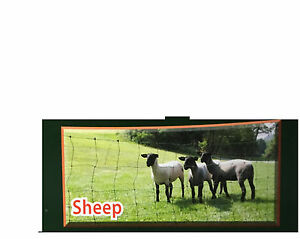 Electric Fence Netting For Sheep 164 roll White