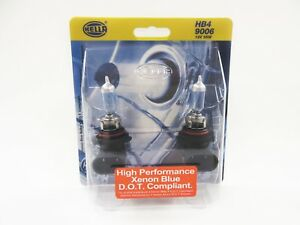 Hella 9006 Hb4 High Performance Xenon Blue D O T Compliant Pack Of 2