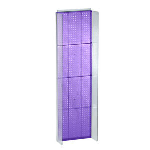 New Retails Purple Pegboard Powerwing Display 16 75 w X 60 high
