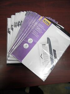 Lot Of 200 Fellowes Laminator Cleaning Sheets 3 10mil 8 1 2 X 11 5320603 24b