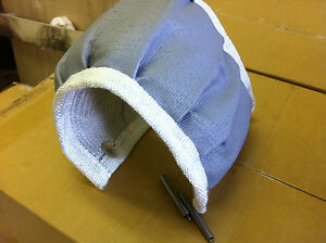 Turbine Housing Heat Shield Exhaust Blanket wrap Garrett turbonetics hks T3 t4
