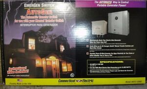 New Connecticut Electric 50 Amp Emergen 240v Automatic Transfer Switch Ats 12000