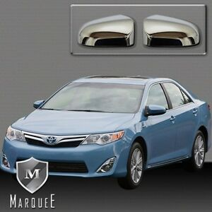 New 2012 14 Toyota Camry Mirror Cover Chrome Trd Side Door Mirror 12 14